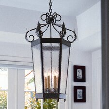 Regency 6 Light Outdoor Foyer Lantern