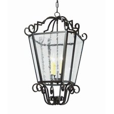 Marin 4 Light Outdoor Foyer Lantern