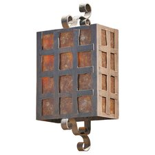 Monte Christo 2 Light Outdoor Wall Sconce