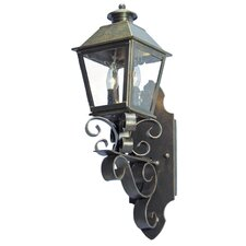 Adonia 2 Light Exterior Wall Lantern