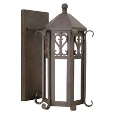 Caprice 1 Light Exterior Wall Lantern