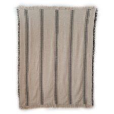 Vintage Hathaway Cotton Stripe Throw Blanket