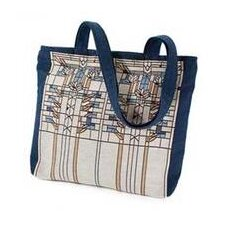 Frank Lloyd Wright Waterlilies Unlined Shoulder Tote Bag