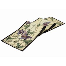 <strong>Rennie & Rose Design Group</strong> Arts and Crafts Flowers and Vines Table Runner