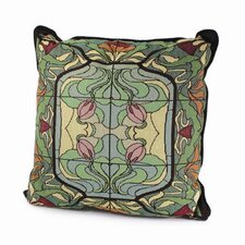 <strong>Rennie & Rose Design Group</strong> Arts and Crafts Thistle and Rose Bud Pillow