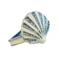Coastal Shell Napkin Rings (Set of 4)