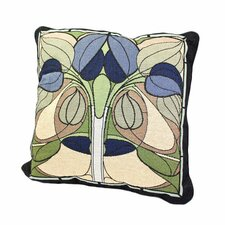 Arts and Crafts Art Nouveau Floral Window Pillow