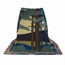 Motawi Landscape Cotton Throw Blanket