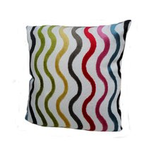 <strong>Rennie & Rose Design Group</strong> Modern Squiggles Pillow