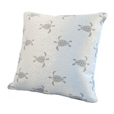 Coastal Sea Turtle Pillow