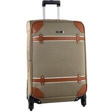 "Vintage 24"" Spinner Suitcase"