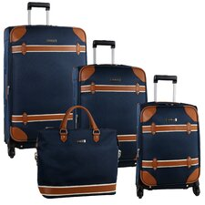 Vintage 4 Piece Luggage Set