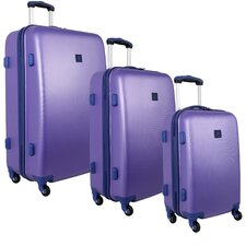 Fast Lane 3 Piece Luggage Set