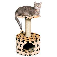 Toledo Paw Print Cat Condo