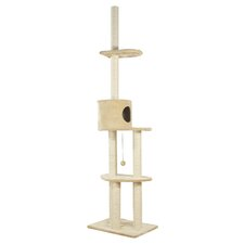 "110"" Santiago Adjustable Cat Tree"