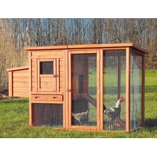 Chicken Coop with Outdoor Run