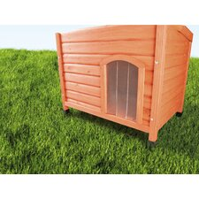 Plastic Door for Flat Roof Dog House