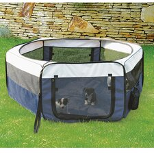 Soft Sided Mobile Play Dog Pen