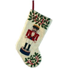 Nutcracker Hooked Stocking