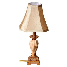 "Seashore 17"" H Table Lamp with Bell Shade"
