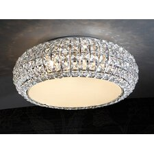 Diamond 6 Light Flush Light