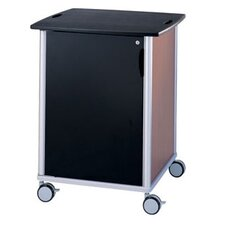Wheelies® Equipment Cart with Locking Door and Adjustable Shelf