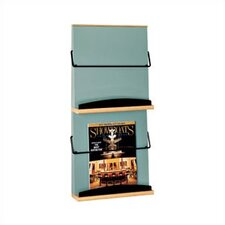 Two Pocket Magazine and Literature Rack and Pocket Divider Kit