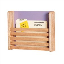 One Pocket Medical & File Chart Holder with Slats