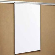 "Tactics Plus® Track Mounted Writing 3'6"" x 3' Whiteboard"