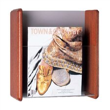 Four Pocket Magazine Rack with Pocket Divider Kit