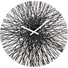 "Silk 17.64"" Clock"