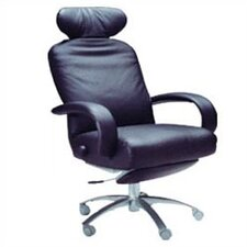 <strong>Lafer</strong> Liza Ergonomic High-Back Office Chair with Arms