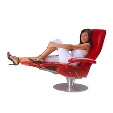 <strong>Lafer</strong> Nathalia Leather Ergonomic Recliner