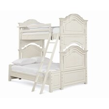 <strong>SmartStuff Furniture</strong> Gabriella Twin over Full Bunk Bed with Ladder