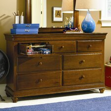 <strong>SmartStuff Furniture</strong> Classics 7 Drawer Dresser