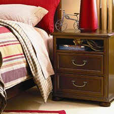 Roughhouse 2 Drawer Nightstand