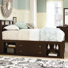 Free Style Low Profile Storage Bed with Storage Unit Bedroom Set