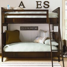 Free Style Twin over Twin Bunk Bed with Ladder