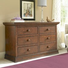 Sheffield Double 6-Drawer Dresser