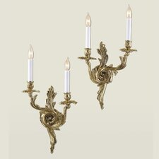 2 Light Rocco Wall Sconce