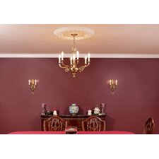 2 Light Torch Wall Sconce