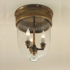 <strong>JVI Designs</strong> 3 Light Small Flush Mount