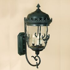 <strong>JVI Designs</strong> Gryphon 3 Light Outdoor Wall Lantern