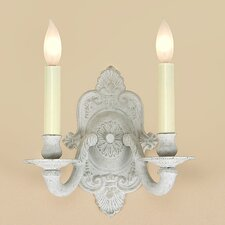 2 Light Wall Sconce