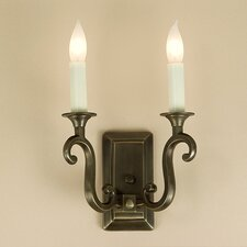 <strong>JVI Designs</strong> 2 Light Wall Sconce