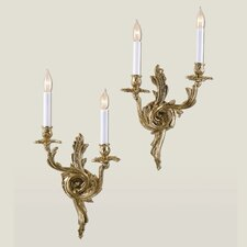 <strong>JVI Designs</strong> 2 Light Rocco Wall Sconce