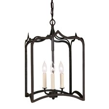 Gothic 3 Light Medium Foyer Pendant