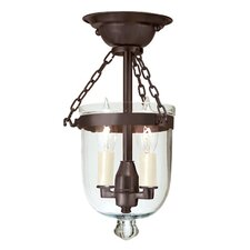<strong>JVI Designs</strong> 2 Light Tiny Semi Flush Mount