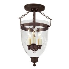 Danbury Star 3 Light Hanging Lantern