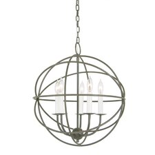 5 Light Globe Chandelier